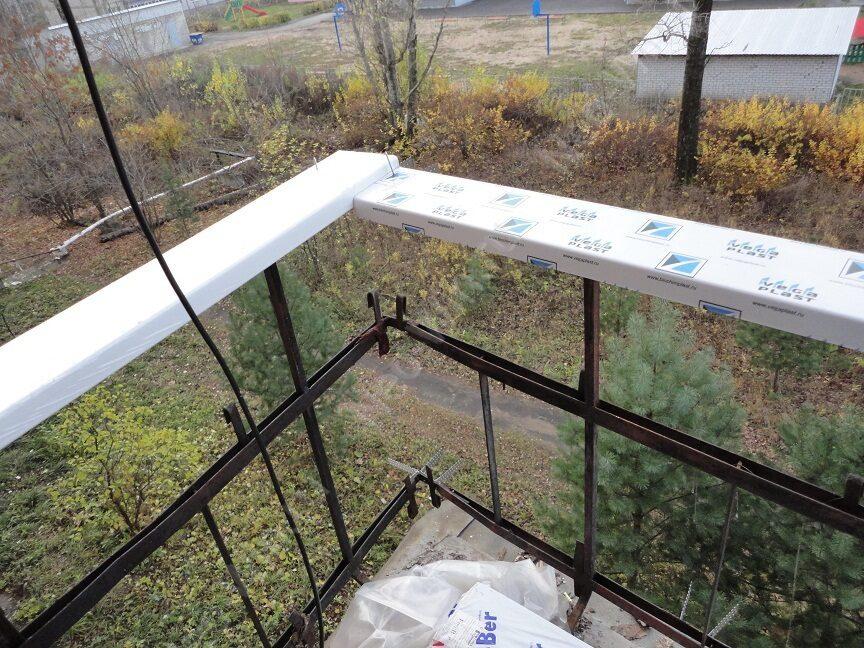 Монтаж балкона пвх своими руками 445